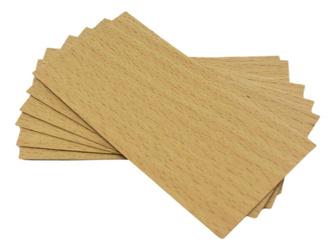 Knot drewniany do wosku 10 szt dłu. 10cm szer. 5cm