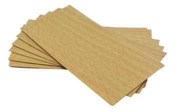 Knot drewniany do wosku 20 szt dłu. 8cm szer. 5cm