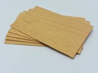 Knot drewniany do wosku 5 szt dłu. 8cm szer. 5cm