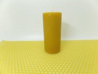 Naturalna świeca z wosku pszczelego słupek