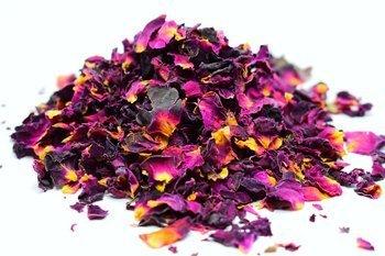 Suszone płatki róż do świec sojowych kwiaty 10g
