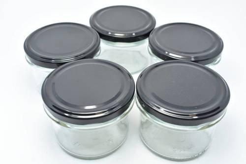 Słoik przezroczysty do świec zakręcany 235 ml 10 szt.