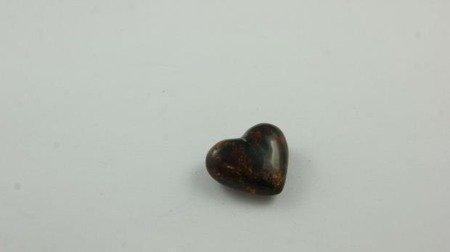 bursztyn bałtycki serce herbaciany inkluzje 1,9 g