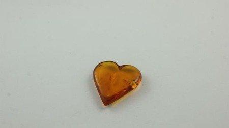 bursztyn bałtycki serce herbaciany inkluzje 2,3 g
